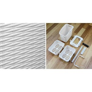 【週末限定クーポン】ランドリーワゴン 3段 ランドリーメイト 洗濯かご ( ランドリーボックス ランドリーバスケット 脱衣かご )|interior-palette|10