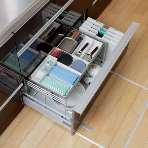 キッチン収納ケース ゴミ袋収納ボックス システムキッチン 引き出し用 トトノ ( ゴミ袋ストッカー ポリ袋ストッカー ポリ袋ホルダー )|interior-palette|13