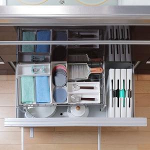キッチン収納ケース ゴミ袋収納ボックス システムキッチン 引き出し用 トトノ ( ゴミ袋ストッカー ポリ袋ストッカー ポリ袋ホルダー )|interior-palette|14