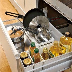 キッチン収納ケース ゴミ袋収納ボックス システムキッチン 引き出し用 トトノ ( ゴミ袋ストッカー ポリ袋ストッカー ポリ袋ホルダー )|interior-palette|16