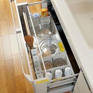 キッチン収納ケース ゴミ袋収納ボックス システムキッチン 引き出し用 トトノ ( ゴミ袋ストッカー ポリ袋ストッカー ポリ袋ホルダー )|interior-palette|17