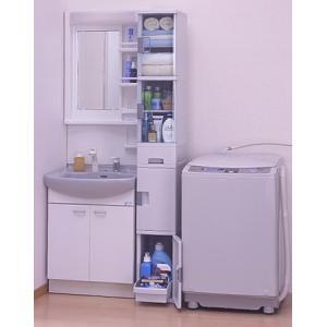 【週末限定クーポン】収納棚 スリムストッカー180( サニタリー収納 チェスト キッチンストッカー 洗面所 )|interior-palette