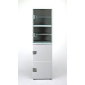 収納棚 ワイドストッカーW165( サニタリー収納 チェスト キッチンストッカー 洗面所 )|interior-palette