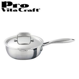 Vita Craft(ビタクラフト) ソテーパン フライパン 20cm プロ No.0132 IH対応 業務用 ( 無水調理 無油調理 無水鍋 )