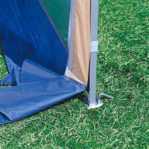 クイックシェード スクリーンプラス UVカット 防水 キャスターバッグ付 2.5m×2.5m ( キャプテンスタッグ テント タープ )|interior-palette|06