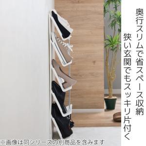 シューズラック 省スペース 3段 ( シューズボックス 靴箱 靴入れ )|interior-palette|02