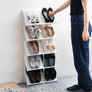シューズラック 省スペース 3段 ( シューズボックス 靴箱 靴入れ )|interior-palette|06