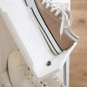 シューズラック 省スペース 3段 ( シューズボックス 靴箱 靴入れ )|interior-palette|08