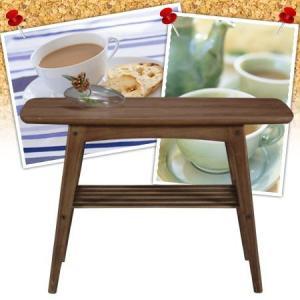 希少価値の高いウォルナット材を使用し北欧風に仕上げた北欧テイストのテーブルです。●サイドテーブルは、...