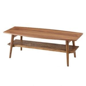 リビングテーブル アポロ 折りたたみ 棚付き ( センターテーブル ローテーブル 机 ) interior-palette