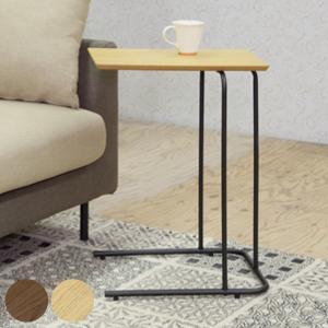 サイドテーブル スチールフレーム アーロン 高さ60cm ( テーブル 机 デスク カフェテーブル ナイトテーブル スチール脚 アイアン )|interior-palette
