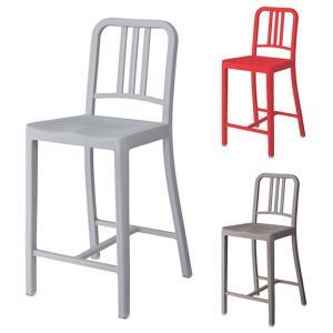 カウンターチェア ハイチェアー 椅子 樹脂製 座面高61cm ( チェア イス いす ハイチェア カウンターチェアー チェアー )|interior-palette