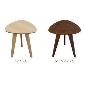 【週末限定クーポン】サイドテーブル ビスキュイ おにぎり型 39.5cm ( コーヒーテーブル ソファサイド )|interior-palette|03