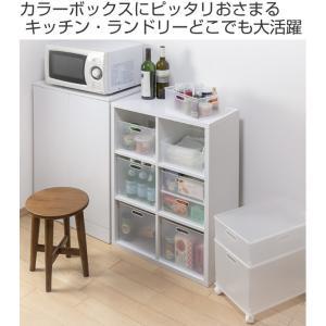 【週末限定クーポン】収納ボックス 収納ケース squ+ インボックス L カラーボックス インナーボックス おもちゃ箱|interior-palette|02