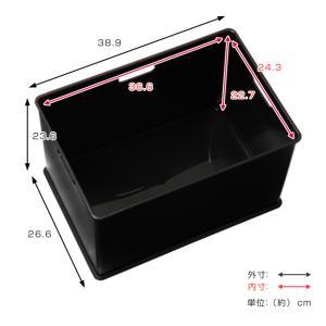 【週末限定クーポン】収納ボックス 収納ケース squ+ インボックス L カラーボックス インナーボックス おもちゃ箱|interior-palette|05