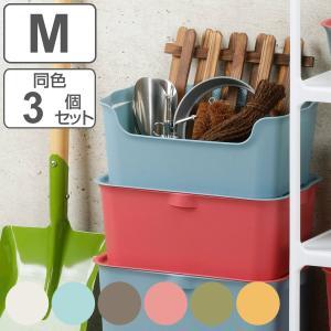 収納ボックス カタス M カラーボックス インナーボックス 引き出し 同色3個セット ( 収納ケース 収納 プラスチック ケース ボックス ) interior-palette