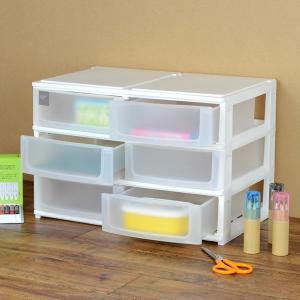 収納ケース ポスデコ ワイドサイズ 浅型ショート6段 カラーボックス用 ( 収納ボックス カラーボックス インナーボックス )|interior-palette|05