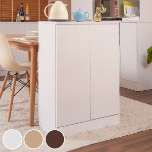 カウンター下収納 キャビネット 北欧風 Face 幅60cm ( キッチン収納 収納棚 窓下収納 キッチン 収納 キッチンカウンター )|interior-palette