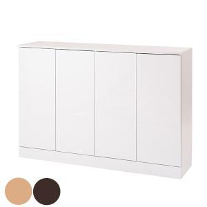 カウンター下収納 食器棚 北欧風 多段タイプ Face 幅112cm ( 収納 キャビネット キッチンカウンター カウンター )|interior-palette