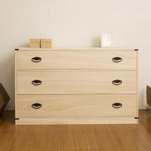 桐たんす 着物用 3段 桐タンス 日本製 幅99cm ( 桐箪笥 収納 桐チェスト 国産 )|interior-palette|05