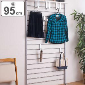 突っ張りラダーラック 幅95 つっぱり 壁面収納 国産|interior-palette