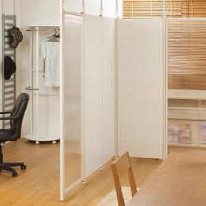 突っ張りパーテーションボード 本体用 ホワイト( パーティション 間仕切り 衝立 )|interior-palette