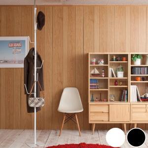 突っ張り ポールハンガー 衣類収納 ツリー型 ( 玄関収納 突っ張り収納 収納 ) interior-palette