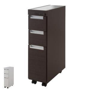 キッチンカウンター スリムカウンター ステンレス 幅20.5cm ( キッチンワゴン キッチン 収納 キッチンラック スリム ) interior-palette