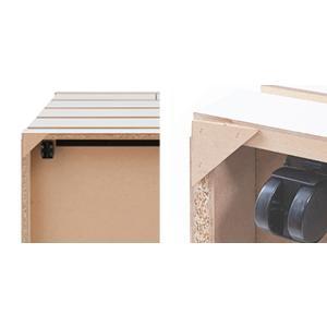 チェスト 3段 整理タンス 押入れ収納 奥深 キャスター付 幅75cm ( 木製 押入れ クローゼット 収納 クローゼット収納 完成品 日本製 )|interior-palette|06