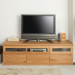 天然木テレビボード 幅150cm ( AVボード テレビ台 ローボード )|interior-palette