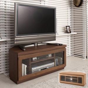 天然木 コーナーテレビ台 幅約90cm ( ローボード 完成品 TVラック )|interior-palette