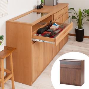 キャビネット ショーケース コレクションキャビネット 天然木 アルダー材 幅80cm ( ディスプレイ ガラスケース コレクション ) interior-palette
