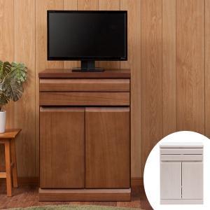 【ポイント最大26倍】パソコンデスク キャビネットタイプ 天然木 桐 幅60cm ( 机 デスク PCデスク )|interior-palette