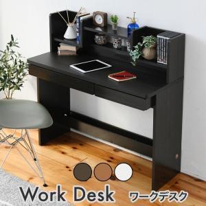 デスク パソコンデスク 100cm 45cm シンプル コンパクト 勉強机 学習机 木製 机|interiorcafe