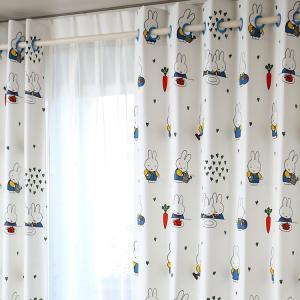 リリカラ ミッフィー LS60456 ハトメカーテン 幅100cm 高さ200cmです。  人気キャ...