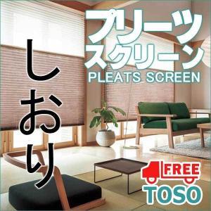トーソー プリーツスクリーン しおり 25(B価格帯) シングル チェーン 和調ベーシック 葉月(はづき) 幅 120×高さ 100cm まで|interiorkataoka