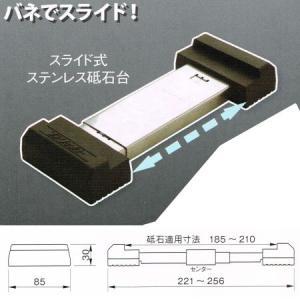 伊藤製作所 123 ワンツースリー スライド式ステンレス砥石台 GS-SP