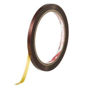 3M 耐熱性ポリイミド 耐熱マスキングテープ 5412 5mm幅×32.9m 1巻|interiortool