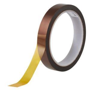 3M 耐熱性ポリイミド 耐熱マスキングテープ 帯電防止タイプ 5419 10mm幅×32.9m 1巻|interiortool