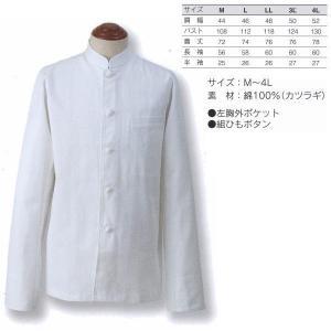 アベイチ シングルコート 長袖 綿100%(カツラギ) JF-401 M/L/LL/3L/4L interiortool