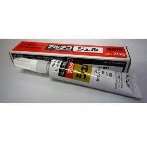 アルテコ 瞬間接着剤 高粘度 ジェル 20g 1本|interiortool