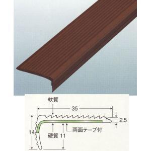 アシスト コロバン No.13-35DX K-14 ブラウン 両面テープ付き 1820mm×20本入|interiortool