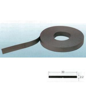 マグネットゴム(ロール物) No.77-825 エレベーター保護幕用 幅30mm×厚さ2.2mm 20m|interiortool