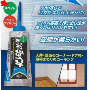コニシ ボンド スーパージョイントX 壁紙用 ツヤ消し ホワイト 500g 1本 05686|interiortool