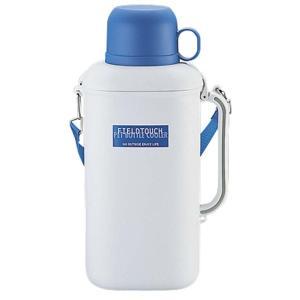 キャプテンスタッグ 抗菌ペットボトル用クーラー(保冷剤付)2.0L(ホワイト×ブルー)(市販品角型ペットボトル2L、丸型・角型ペットボトル1.5L専用) M-1487 interiortool