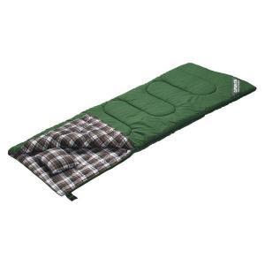 キャプテンスタッグ グランデ封筒型シュラフ(寝袋)1400(ピロー付)GR M-3471|interiortool