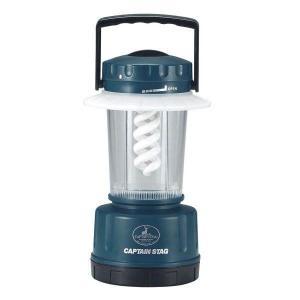 キャプテンスタッグ エコアクティブ スパイラル蛍光灯ランタン(M) M-5115|interiortool