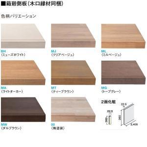 大建 ハピアベイシス ハモンド箱型 箱廻側板(木口縁材同梱)2400 CR224-K21 1枚 interiortool