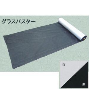 大建 防草シート グラスバスター 白/黒 幅1m×10m巻 QM0401-111|interiortool