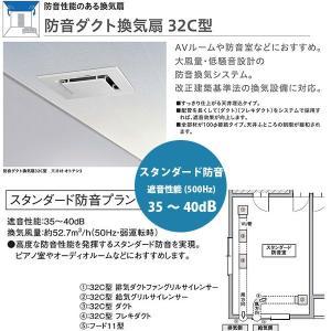 大建 防音ダクト換気扇 32C型 スタンダード防音プランセット 遮音性能35〜40dB 【代引き不可・直送】|interiortool